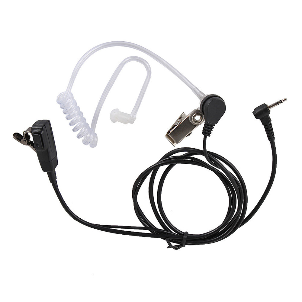 2.5mm FBI Air Tube Earpiece Headset PTT Mic For Motorola Walkie Talkie Talkabout Radio TLKR T60 T80 T3 T5 T7