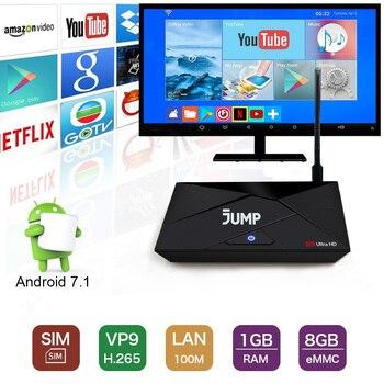 цена на 4G Lte Android 7.1 Tv Box RK3229 1GB 8GB EMMC Smart Set Top Box 2.4G WiFi Miracast HD 4K Media Player 4G Micro SIM Card
