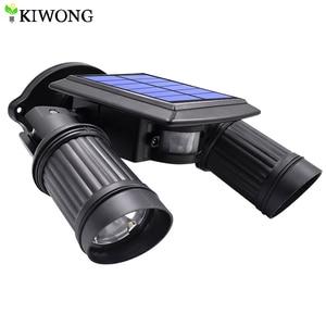Image 1 - סופר מואר 14 LED עמיד למים PIR חיישן תנועת שמש מופעל אור, led שמש אורות גן אבטחת מנורת חיצוני רחוב אור