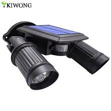 السوبر مشرق 14 LED مقاوم للماء PIR محس حركة تعمل بالطاقة الشمسية الخفيفة ، led أضواء الشمسية حديقة إضاءة أمان مصابيح إضاءة شوارع خارجية