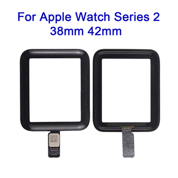 Latumab Original New Touch Panel For Apple Watch Series 2 / 3 38mm 42mm Touch Panel Glass Touch Screen Digitizer Replacement image