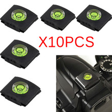 10pcs Camera Bubble Spirit Level Hot Shoe Protector Cover DR Cameras Accessories For Sony A6000 For Canon For Nikon