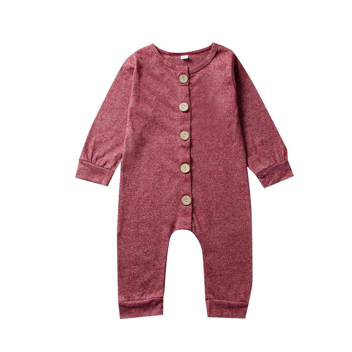 Детская одежда осенняя для малышей комбинезон с длинными рукавами цельнокроеный