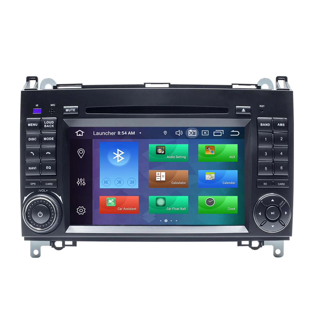 DSP 4 ГБ 2 din автомобильное радио GPS стерео для Mercedes Sprinter W906 Benz B200 A B Class W169 W245 Viano VitoW639 Multimeida навигация