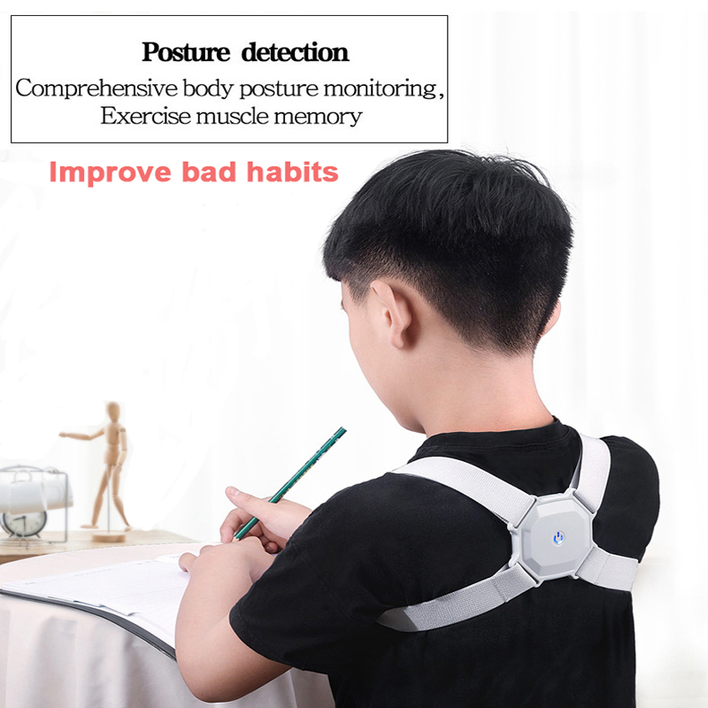 Smart Posture Corrector Back Brace Support Adjustable Vibration Alert Belt Anti Humpback Pain Relief Posture Trainer Health Care
