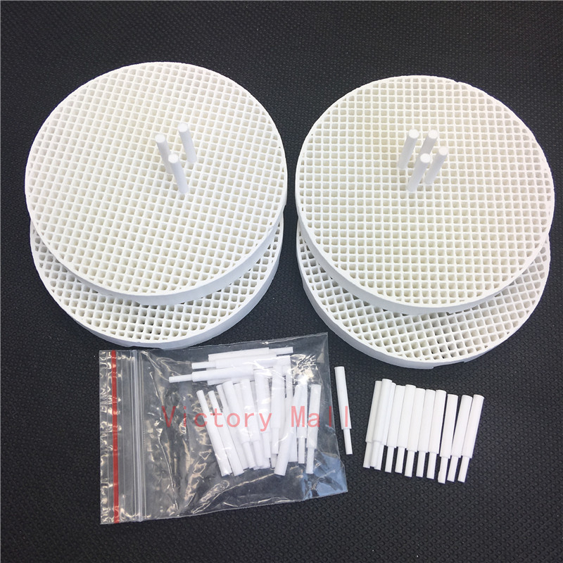 Dental Lab Honeycomb Firing Trays And Zirconia Ceramic Pins Dental Technician Supplies