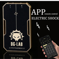 APP Remote Control Electro Stimulation Dual Output Electric Shock Kit,Tens Electro Device SM Medical Themed Sex Toys For Couples