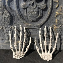 Get more info on the 2PCS Halloween Hand Skeleton Decoration Unique Plastic Hand Skeleton Decoration For Haunted House Party SuppliesCM