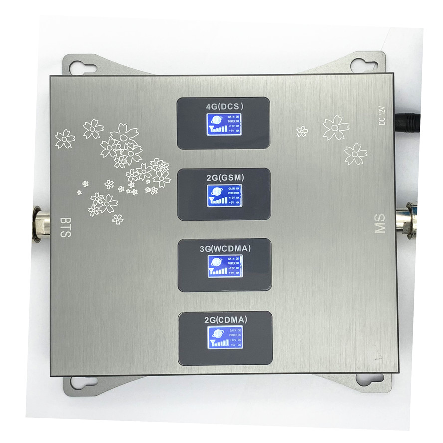 800 (850) 900 1800 2100 Mhz Cell Phone Booster Signal Amplifier 2G 3G 4G LTE Repeater CDMA GSM DCS WCDMA .only Booster