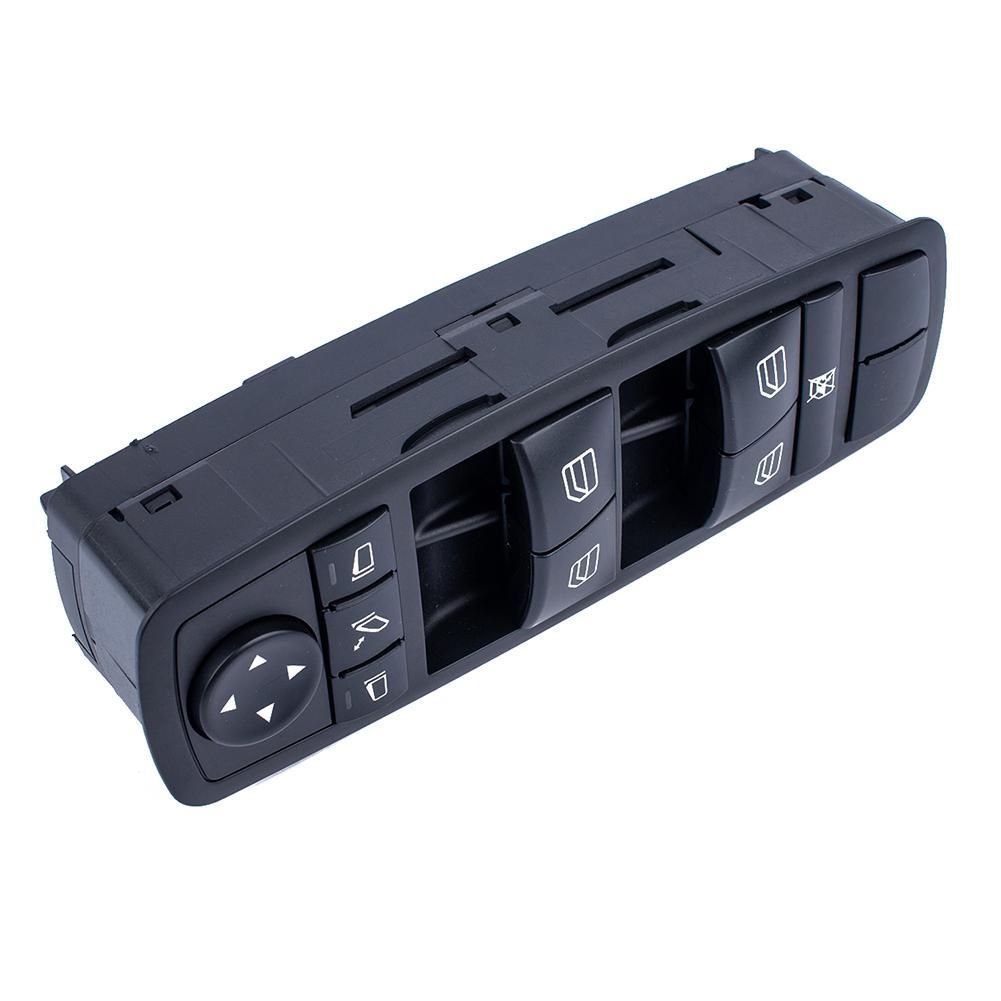 HiMISS Master commutateur de fenêtre d'alimentation pour mercedes-benz W164 GL320 GL350 GL450 ML500 OE: 2518300290 avec Kit - 2