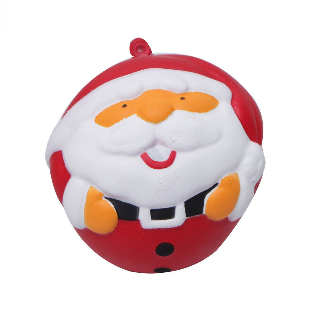 Slow Rebound Santa Claus Doll Squeeze Stress Relief Toys Kids Christmas Gift Soft Elastic Toy Children Funny Gadgets #A
