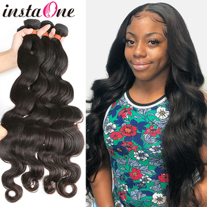 28 30 32 34 40 Inch Body Wave Brazilian Hair Weaves Bundles 3 4 Bundles Human Hair Bundles Single Bundles Remy Hair Extensions(China)