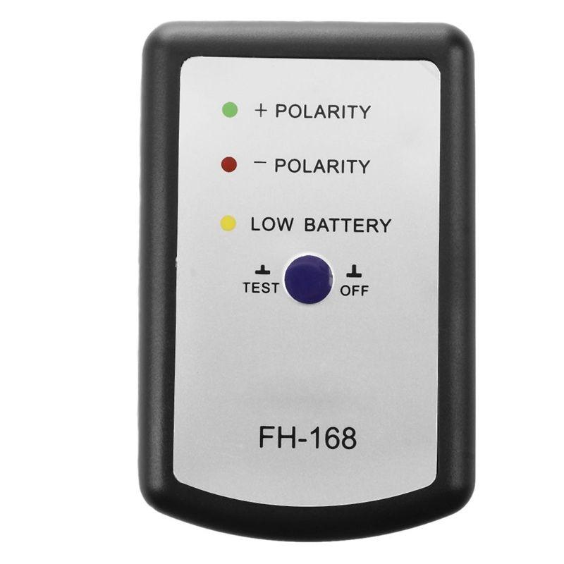 Black Speaker Polarity Tester PH Phase Meter/Phasemeter For Auto Car