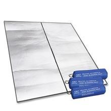 200x200 см Коврик для пикника наружный анти-влажный туристический коврик для сна коврик для матраса водонепроницаемый двойная алюминиевая ремка для телефона фольга подушка для сидения из пенополистирола