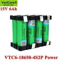VTC6 18650 4S2P 14.4/14.8V 6000Mah 20 Amps 15V 16.8V Voor Schroevendraaier Batterijen Diy Weld beugel Batterij