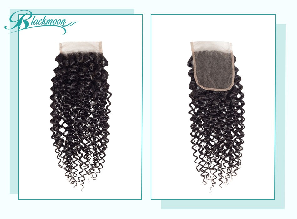 curly hair lace closure03
