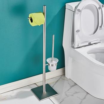 Support Papier Toilette et Brosse