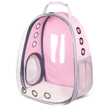 Cat Backpack  Pet Outdoor Travel Dog Transparent Space Capsule Shoulder Bag Kandang Kucing Windproof Fashion