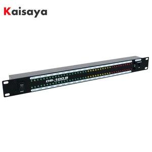 Amplificador Casa Amplificador de Estágio profissional Orador Dual Áudio Espectro LED Indicador de Nível de Som-57dB-0dB 40 T0981