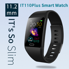 2019 New Trend Smart watch color screen light and thin intelligent Bracelet heart rate sleep monitor foot movement