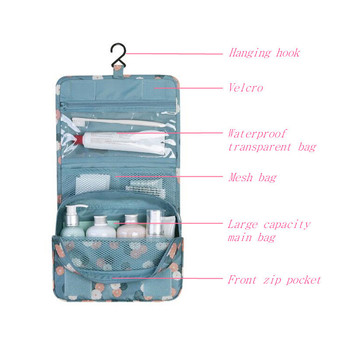 New Fashion Multi-Function Travel Cosmetic Bag Waterproof Toiletries Storage Bag Cosmetics Storage Travel Kit Women Beauty Bag rose diary new multi function transparent mesh beauty zipper travel cosmetic bag portable toile pouch pencil bag purse bag