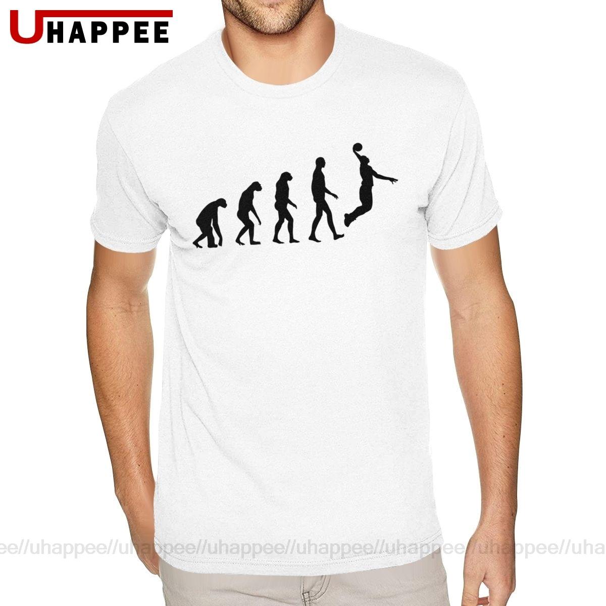 Pride Love Evolution Basketball Tshirt for Men 6XL Short Sleeves Heavy Cotton Round Neck Tees Shirt