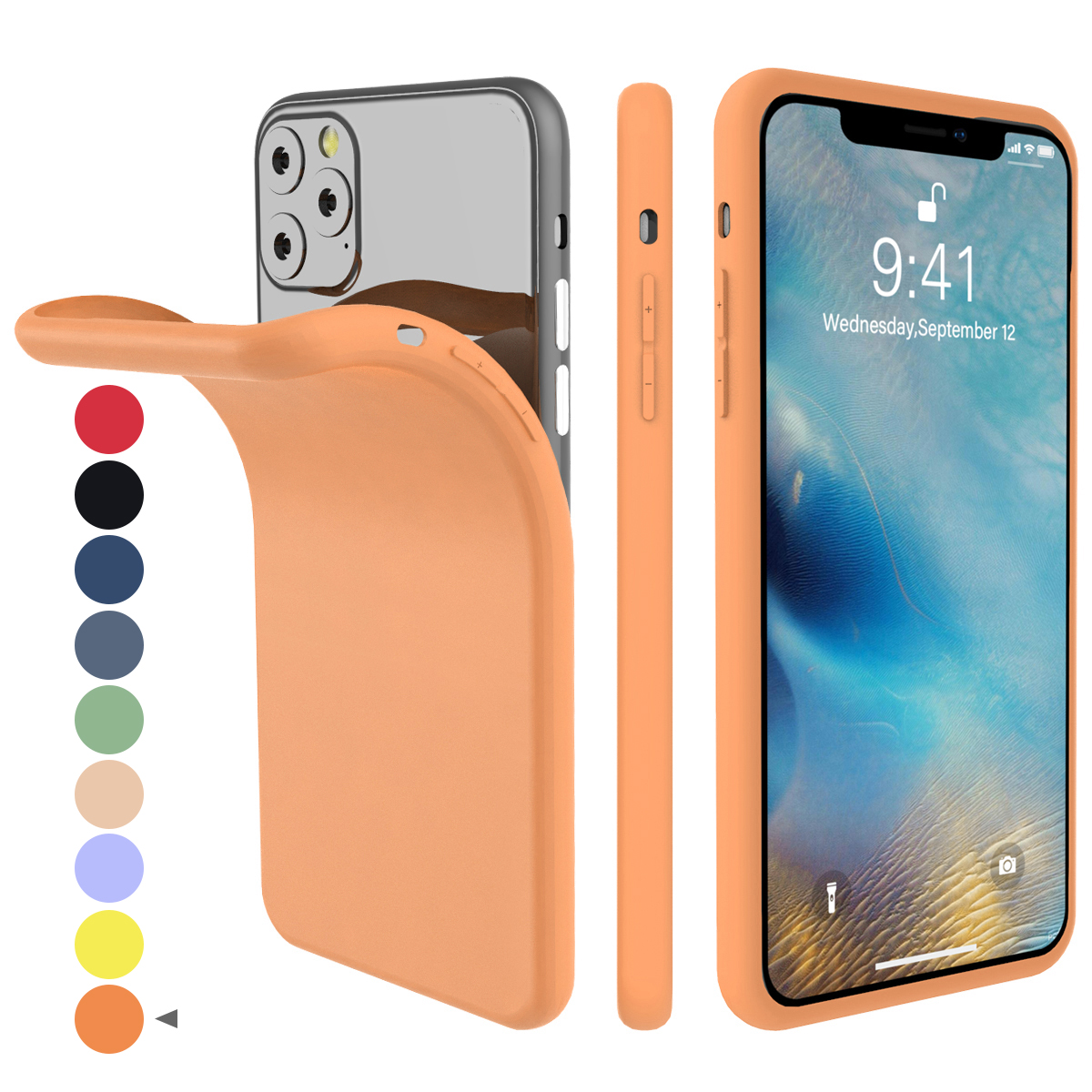 Torubia Silicone Case for iPhone 11/11 Pro/11 Pro Max 116