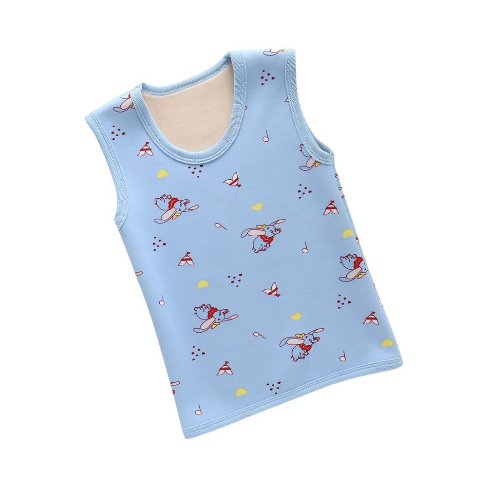 PPXX Winter Children Baby Fur Vest Waistcoat Kids Vest Toddler Baby Fleece Vest for Boy Girl Cloth Jacket Sleeveless Coat 5