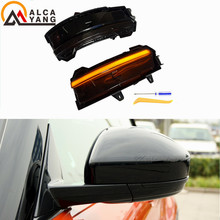 2 pcs Dynamic Turn Signal Light Side Wing Rearview Mirror Sequential Indicator Lamp Blinker For Land Rover Discovery Sport 15-18