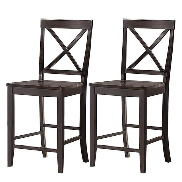 """Set of 2 24"""" Counter Height Barstools 6"""