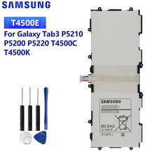 SAMSUNG Original Replacement Battery T4500E For Samsung GALAXY Tab3 P5200 P5210 P5220 T4500C T4500K Tablet Battery 6800mAh samsung t4500e tablet battery for samsung galaxy tab3 p5210 p5200 p5220 6800mah