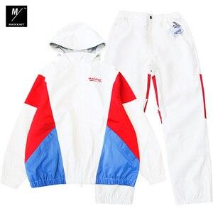 Image 5 - New winter ski suits women Waterproof and warm outdoor snowboard jacket man ski wear vintage style