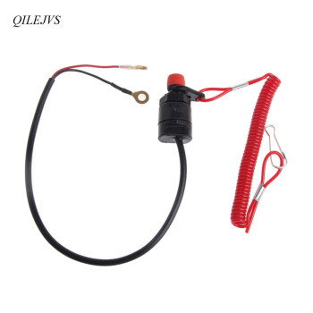 Universal Boat Outboard Engine Motor Kill Stop Switch Safety Tether Lanyard Motorcycle Accessories Motorcycle Switches rcexl opto gas engine kill switch