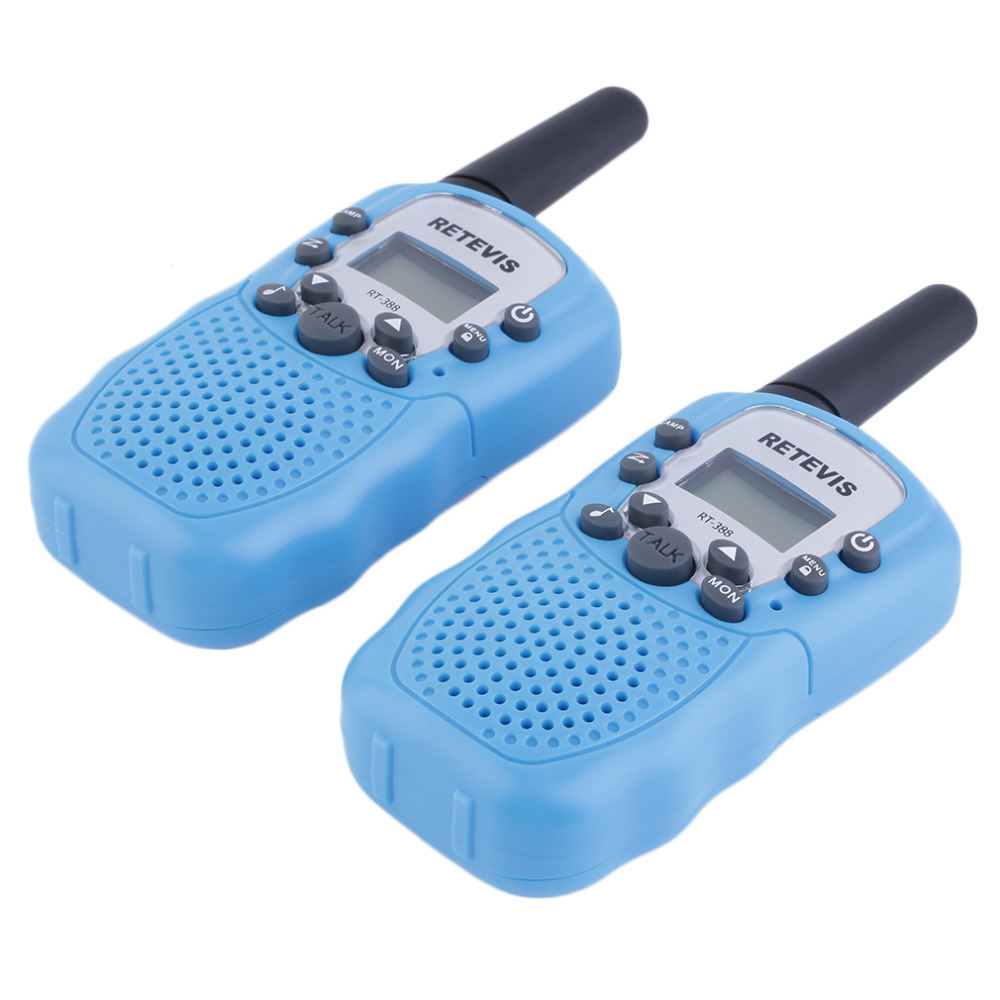 YKS RT-388 Walkie Talkie Speaker Toys For Children 0.5W 22CH Two Way Radio Boys And Girls Gift 2 Pcs