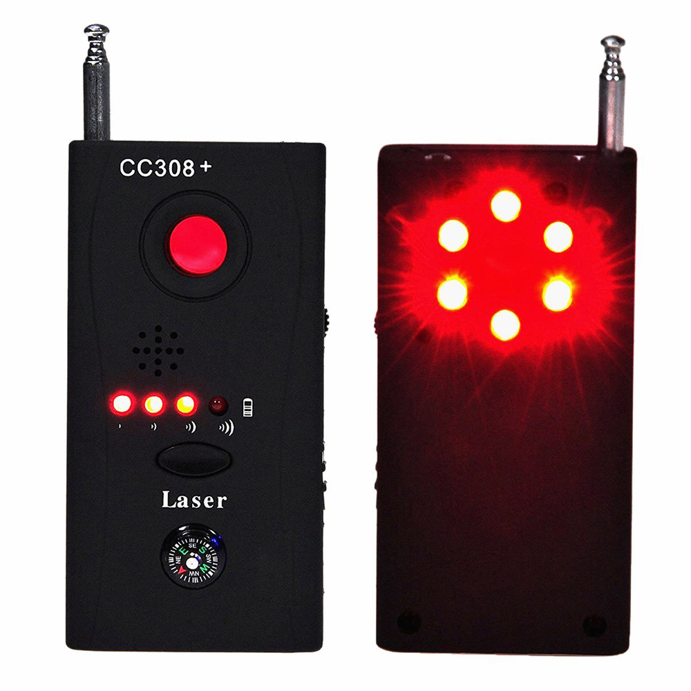 Jammer Signal Blocker Anti Spy Detector Multi-functional Wireless RF Anti-spy Signal GSM Device Finder Monitor With LED Light