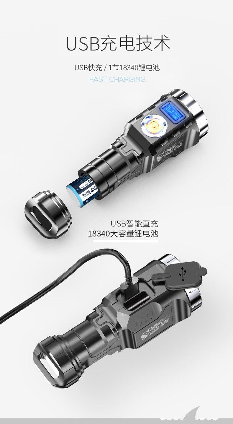 para segurança, portátil, iluminação bi50fl