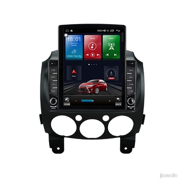 9.7 octa core tesla style vertical screen Android 10 Car GPS radio Navigation for Mazda2 mazda Demio 2007-2014 image