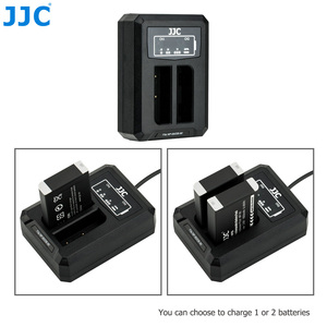 Image 2 - 후지 필름 NP 95 NP95 용 JJC USB 듀얼 배터리 충전기 후지 DB 90 배터리 후지 XF10 X100T X100S X100 대체 BC 65N