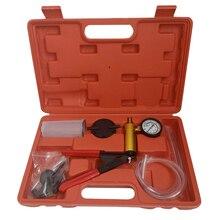 1 шт. удобный автомобильный детектор вакуумный насос инструмент для автомобильного тормоза оборудование для гидрозаполнения с манометром и замена труб инструмент