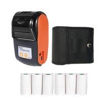 Goojprt bluetooth impressora térmica mini impressora de recibos portátil pequeno para o telefone móvel ipad android/ios presentes natal stroes