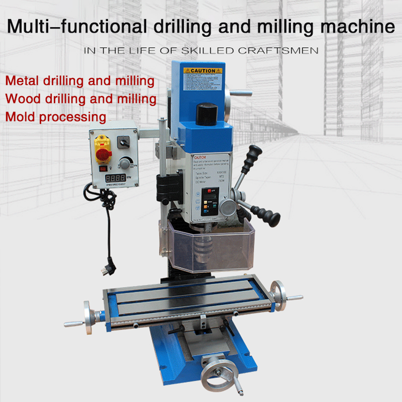 Multifunctional household small drilling and milling integrated lathe high precision bench micro drilling lathe machine|Machine Centre| |  - title=