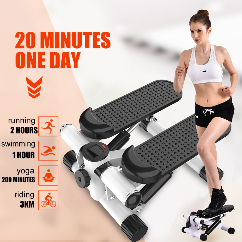 Multi-functional Mini Steppers Running Machines Sport Treadmills LCD Fitness Equipment Home Lose Weight Pedal Gym Exercise
