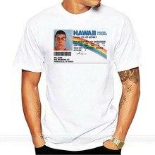 Mclovin – t-shirt à manches courtes pour hommes, amusant, permis de conduire, personnalisé, taille M 2Xl, marque shubuzhi