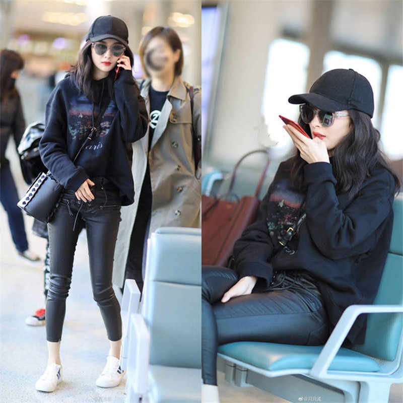 Korea Wanita Hoodie Streetwear 2020 Fashion Cetak Pullover Kasual Longgar Hoody Mantel Hangat Sweatshirt Musim Gugur Musim Dingin Hoodie Anak Perempuan