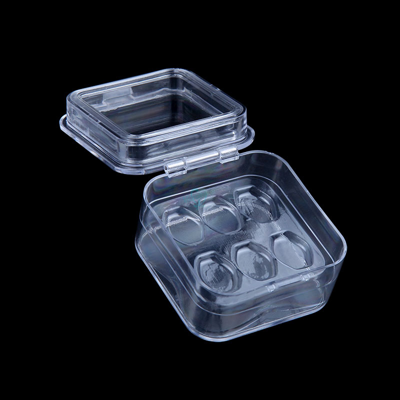 Dental Tooth Box with Film High Quality Dental Supply Denture Storage Box Membrane Tooth Box with hole 2