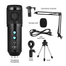 Usb'li Mikrofon PC kondenser DJ Mikrofon vokal kayıt stüdyosu Mikrofon YouTube Tiktok V ideo Skype sohbet oyun Podcast