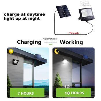 Led lawn Garden Solar Lamp Outdoor 100 LEDs Solar light Motion street Wall+lamps yard garage indoor home spot- lights Chandelier 5
