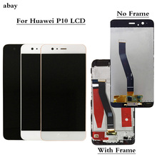 For Huawei P10 LCD Display Touch Screen Digitizer Assembly VTR L09 VTR L10 VTR L29 Display For Huawei P10 LCD Frame Replacement