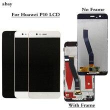 Per Huawei P10 Display LCD Touch Screen Digitizer Assembly VTR L09 VTR L10 VTR L29 Display Per Huawei P10 LCD Con Cornice di Ricambio