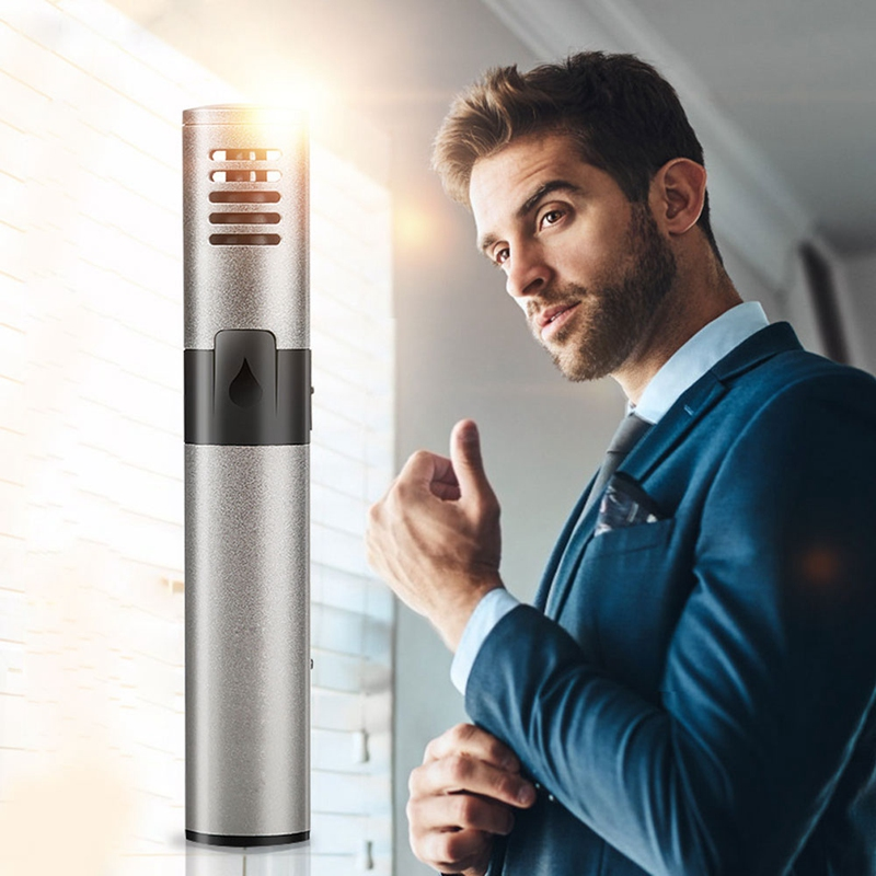 2019 New Electric Nose Hair Trimmer Rechargeable Low Noise Ear Nose Neck Eyebrow Trimmer Use For Man And Woman Home Travel Care